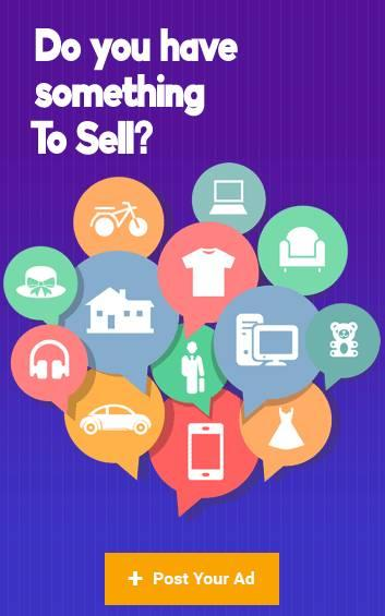 Do you have something to sell? post your free ads